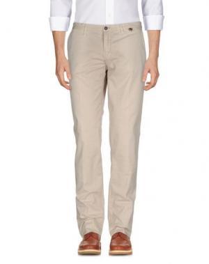 Повседневные брюки L.B.M. 1911. Цвет: бежевый