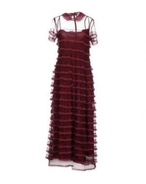 Длинное платье REDValentino. Цвет: пурпурный