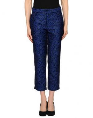 Повседневные брюки M.GRIFONI DENIM. Цвет: синий