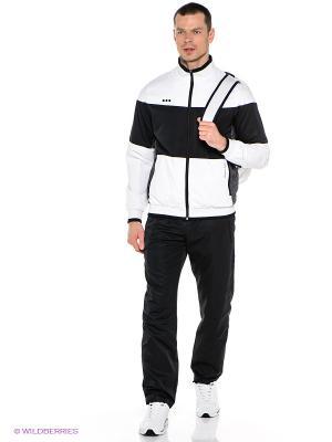 Спортивный костюм ADDIC. Цвет: черный, белый