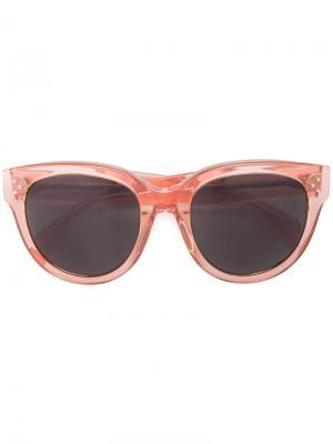 Солнцезащитные очки Céline Eyewear. Цвет: жёлтый и оранжевый