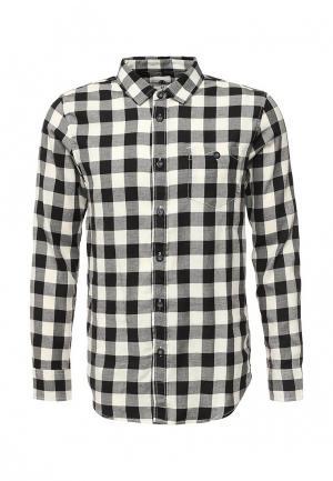 Рубашка Element. Цвет: черно-белый