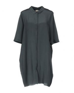 Короткое платье CHARLI. Цвет: грифельно-синий