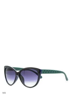 Очки солнцезащитные Vittorio Richi. Цвет: зеленый, черный