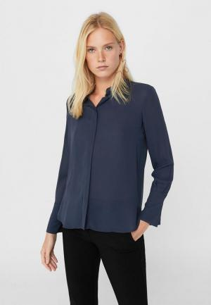 Блуза Mango. Цвет: синий