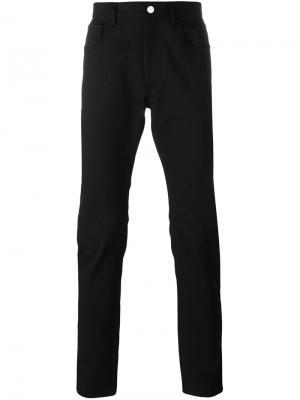 Прямые джинсы Raf Simons. Цвет: чёрный