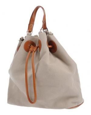 Рюкзаки и сумки на пояс MAISON MARGIELA. Цвет: бежевый