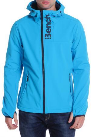 Куртка Bench. Цвет: голубой