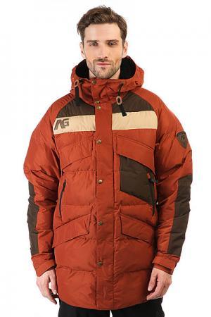 Куртка  Ag Insbrck Dwn Jk Camino Analog. Цвет: коричневый