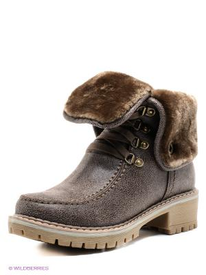 Ботинки Wilmar. Цвет: коричневый