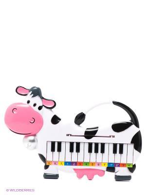 Пианино Коровка Тилибом. Цвет: черный, белый