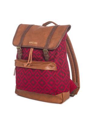 Рюкзак  LINARES DOME Rip Curl. Цвет: темно-коричневый, сливовый, темно-красный, терракотовый, бордовый, коричневый