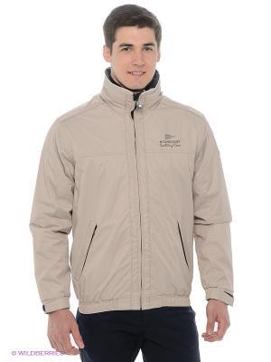 Куртка Stonecast. Цвет: бежевый