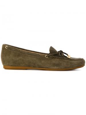 Classic loafers Michael Kors. Цвет: зелёный