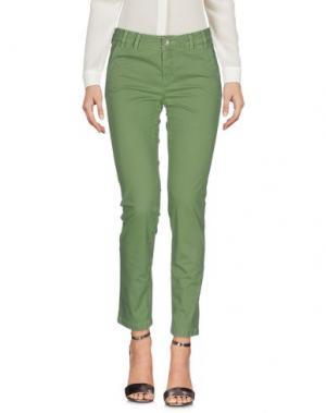 Повседневные брюки TELERIA ZED. Цвет: кислотно-зеленый