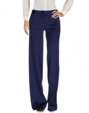 Повседневные брюки FISICO-CRISTINA FERRARI. Цвет: темно-синий
