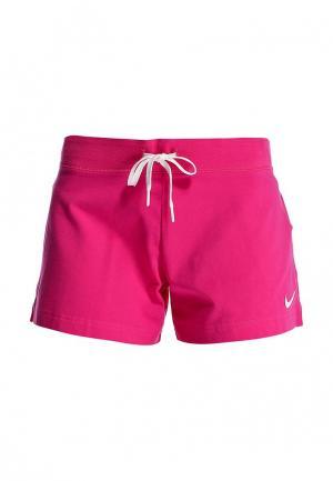 Шорты спортивные Nike. Цвет: розовый