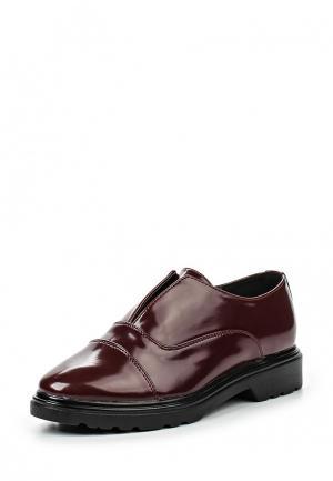 Ботинки Donna Moda. Цвет: бордовый