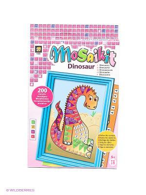 Мозаика Динозавр AMAV. Цвет: розовый