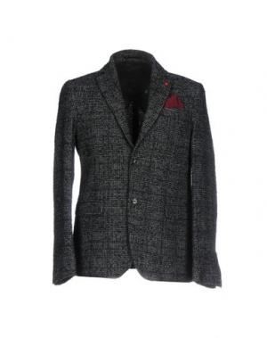 Пиджак SSEINSE. Цвет: темно-зеленый