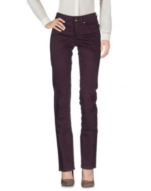 Повседневные брюки CAMOUFLAGE AR AND J.. Цвет: баклажанный