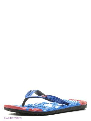 Шлепанцы Effa. Цвет: темно-синий