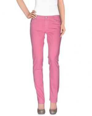 Повседневные брюки FRED PERRY. Цвет: светло-фиолетовый