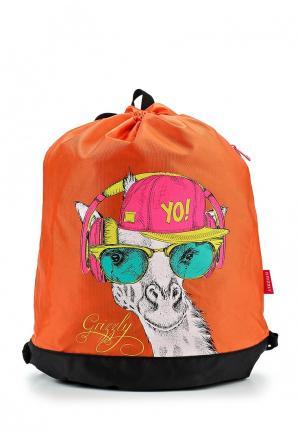 Мешок Grizzly. Цвет: оранжевый