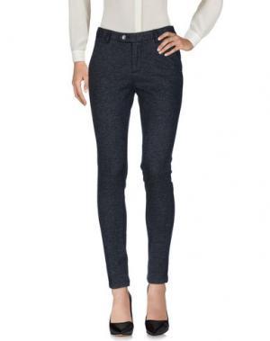 Повседневные брюки YES ZEE by ESSENZA. Цвет: грифельно-синий