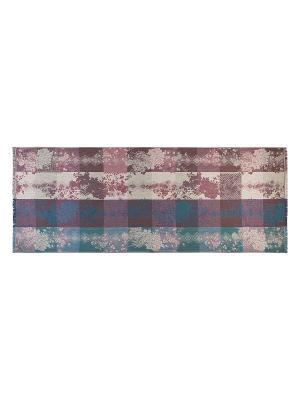 Палантин Labbra. Цвет: морская волна, лиловый, светло-серый