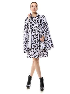 Кейп-пальто-накидка SEANNA. Цвет: белый