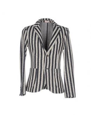 Пиджак D.R SHIRT. Цвет: темно-синий