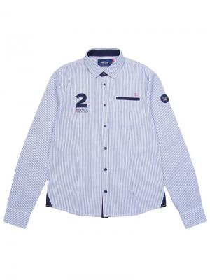 Рубашка Aspen Polo Club. Цвет: белый