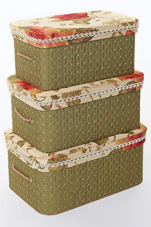 Коробочки шляпные набор 3 пр. Jennifer Taylor. Цвет: мультицвет