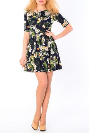Платье S&A style. Цвет: сине-зеленый