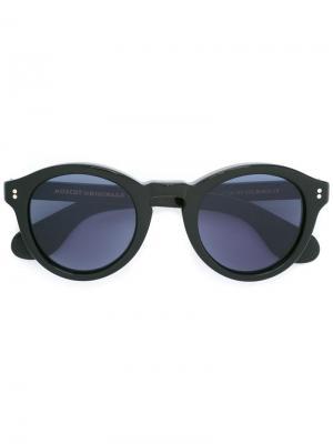 Солнцезащитные очки Keppe Moscot. Цвет: чёрный