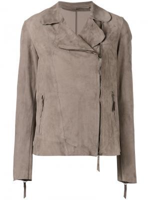 Байкерская куртка Salvatore Santoro. Цвет: телесный