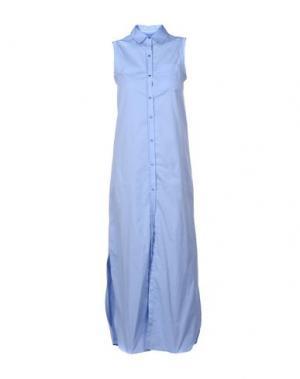 Длинное платье ..,MERCI. Цвет: небесно-голубой