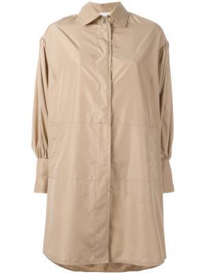 Куртка на пуговицах Gianluca Capannolo. Цвет: телесный