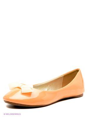 Балетки Wilmar. Цвет: персиковый