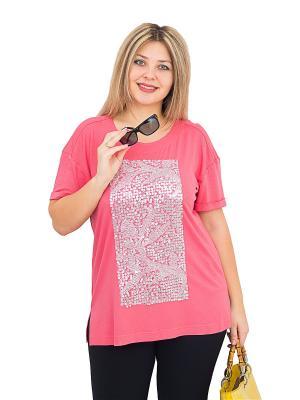 Блуза BALSAKO. Цвет: розовый