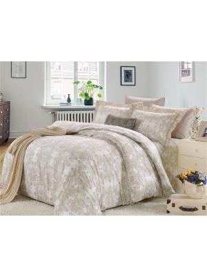 Комплект постельного белья, Фоджа, 1.5 спальный KAZANOV.A.. Цвет: бежевый
