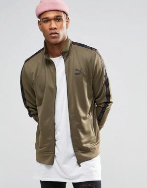 Puma Спортивная куртка Urban. Цвет: зеленый