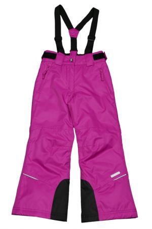 Прямые брюки с утеплителем Icepeak. Цвет: 740 фиолетовый
