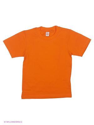 Футболка Хох. Цвет: оранжевый