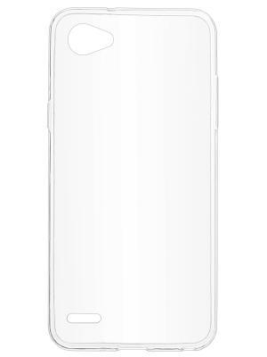 Накладка для LG Q6 skinBOX. Цвет: прозрачный