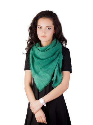 Платок Элеганс (зеленый) Le Motif Couture. Цвет: зеленый