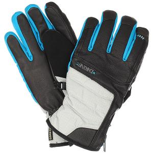 Перчатки женские  Targa Glove Silver Houndstooth Dakine. Цвет: голубой,белый,черный