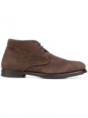 Ботинки-дезерты Andrea Ventura. Цвет: коричневый