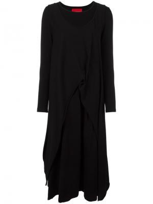Платье Mola Ivan Grundahl. Цвет: чёрный